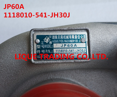 China Turbocompressor genuíno e novo JP60A, 1118010-541-JH30J distribuidor