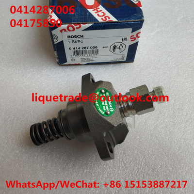 China Bomba original 0414287006 de BOSCH, 0 414 287 006, 04175850, 0417 5850 para Deutz distribuidor
