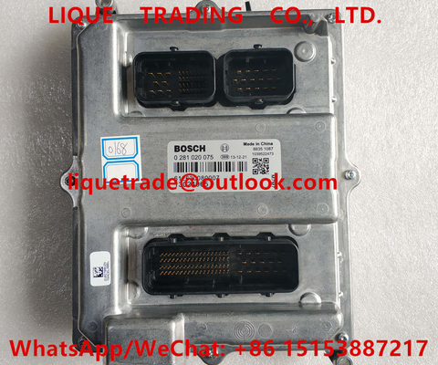 China Motorista 0281020075 do injetor de BOSCH ECU, 0 281 020 075, 0281 020 075 genuínos e novos distribuidor